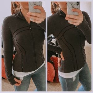 Lululemon pique two tone grey Define jacket, 6